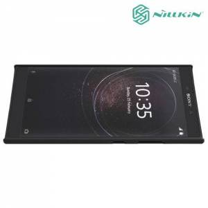 Чехол накладка Nillkin Super Frosted Shield для Sony Xperia L2 - Черный