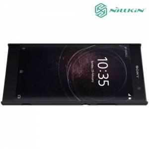 Чехол накладка Nillkin Super Frosted Shield для Sony Xperia XA2 - Черный