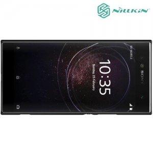 Чехол накладка Nillkin Super Frosted Shield для Sony Xperia XA2 Ultra - Черный