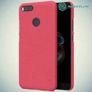 Чехол накладка Nillkin Super Frosted Shield для Xiaomi Mi 5x / Mi A1 - Красный