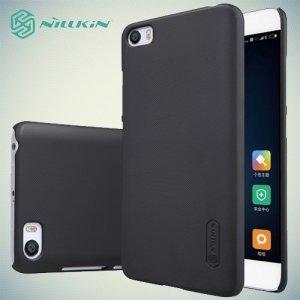 Чехол накладка Nillkin Super Frosted Shield для Xiaomi Mi5 - Черный