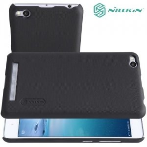Чехол накладка Nillkin Super Frosted Shield для Xiaomi Redmi 3 - Черный