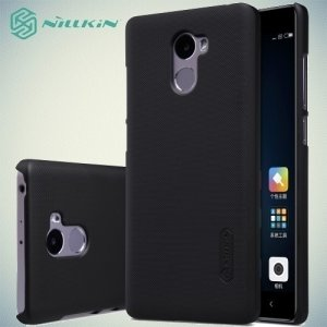 Чехол накладка Nillkin Super Frosted Shield для Xiaomi Redmi 4 - Черный