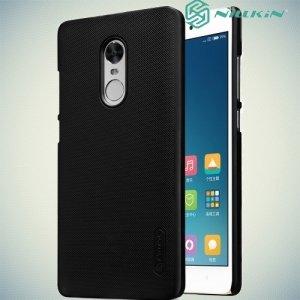 Чехол накладка Nillkin Super Frosted Shield для Xiaomi Redmi Note 4X - Черный