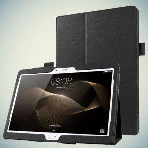 Чехол с креплением для стилуса на Huawei MediaPad M2 10.0 - Черный