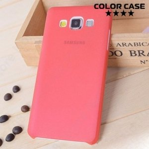 Тонкий чехол для Samsung Galaxy A3 - красный