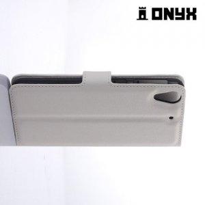 Чехол книжка для HTC Desire 626 / 628 - Белый
