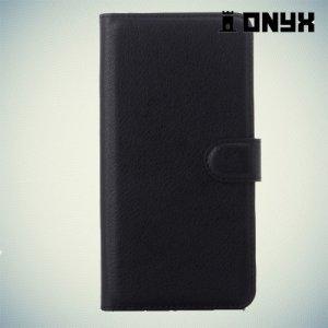 Чехол книжка для HTC Desire 826 Dual Sim - Черный