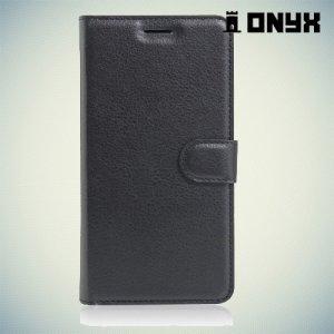 Чехол книжка для Huawei Y6 II - Черный