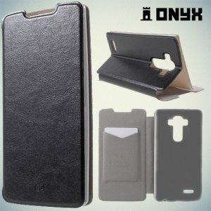 Чехол книжка для LG G4 H818 H815 - Черный