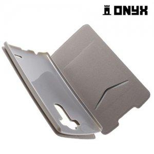Чехол книжка для LG G4 H818 H815 - Белый