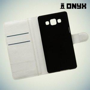Чехол книжка для Samsung Galaxy A5 - белый