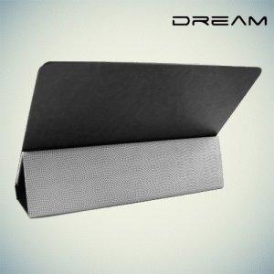 Чехол книжка универсальный для планшетов 10 дюймов тонкий Dream - черный