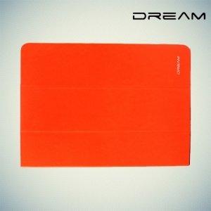 Чехол книжка универсальный для планшетов 10 дюймов тонкий Dream - Оранжевый