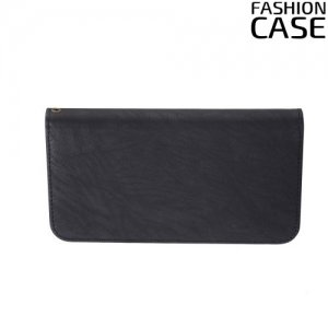 Чехол сумка для телефона 5 - 5.5 дюймов FashionCase - черный
