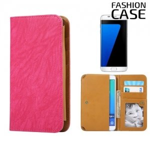 Чехол сумка для телефона 5 - 5.5 дюймов FashionCase - розовый