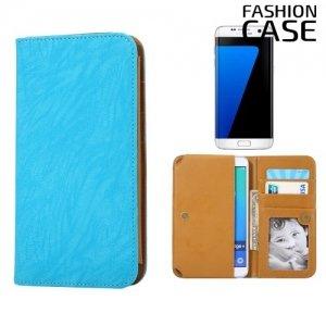 Чехол сумка для телефона 5 - 5.5 дюймов FashionCase - голубой
