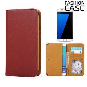 Чехол сумка для телефона 5 - 5.5 дюймов FashionCase - коричневый
