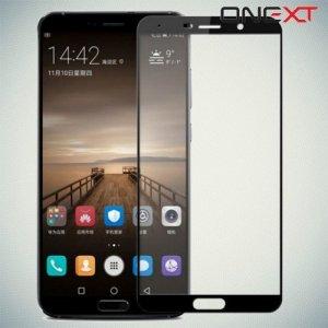 Черное защитное 3D стекло для Huawei Mate 10 полноэкранное OneXT