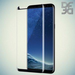 Черное защитное 3D стекло для Samsung Galaxy Note 9 полноэкранное DF