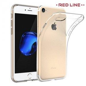 Red Line силиконовый чехол для iPhone 8/7 - Прозрачный