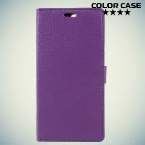 ColorCase флип чехол книжка для Asus Zenfone 4 ZE554KL - Фиолетовый