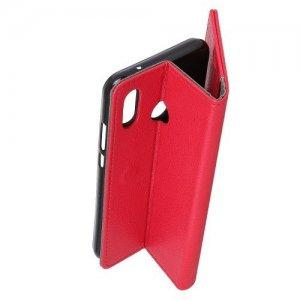 ColorCase флип чехол книжка для Asus Zenfone Max M2 ZB633KL - Красный