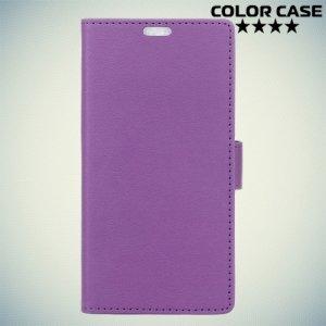 ColorCase флип чехол книжка для Huawei Nova 2 - Фиолетовый