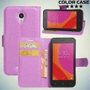 ColorCase флип чехол книжка для Lenovo A Plus A1010 - Фиолетовый