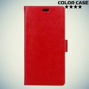 ColorCase флип чехол книжка для Meizu M5s - Красный