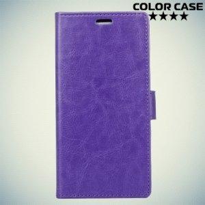 ColorCase флип чехол книжка для Meizu M5s - Фиолетовый