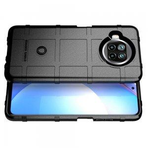 Defender Бронированный противоударный двухслойный чехол для Xiaomi Mi 10 Lite - Черный