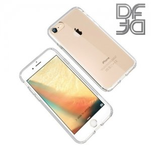 DF aCase силиконовый чехол для iPhone 8/7 - Прозрачный