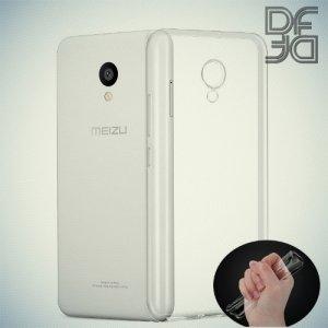 DF aCase силиконовый чехол для Meizu M5 - Прозрачный