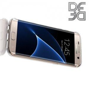 DF aCase силиконовый чехол для Samsung Galaxy S7 Edge  - Прозрачный