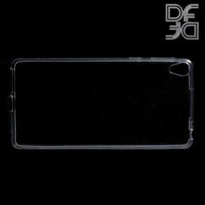 DF aCase силиконовый чехол для Sony Xperia E5 F3311 - Прозрачный
