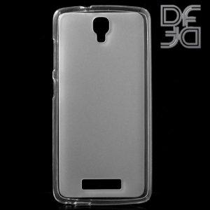 DF aCase силиконовый чехол для ZTE Blade L5/L5 Plus - Белый полупрозрачный