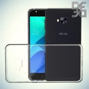 DF Case силиконовый чехол для Asus Zenfone 4 Selfie Pro ZD552KL - Прозрачный