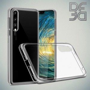 DF Case силиконовый чехол для Huawei P20 Pro - Прозрачный