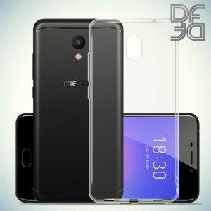 DF Case силиконовый чехол для Meizu M6 - Прозрачный