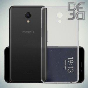 DF Case силиконовый чехол для Meizu M6s - Прозрачный