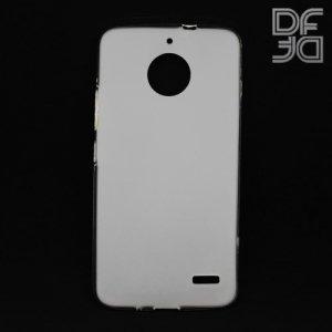 DF Case силиконовый чехол для Moto E4 - Белый матовый