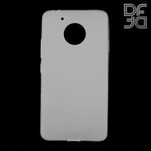 DF Case силиконовый чехол для Moto G5 - Белый матовый