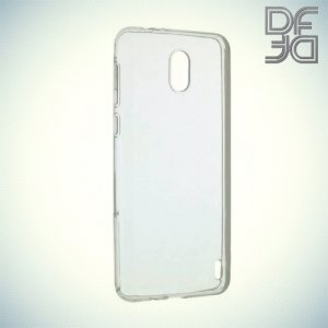 DF Case силиконовый чехол для Nokia 2 - Прозрачный
