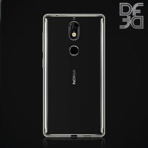DF Case силиконовый чехол для Nokia 7 - Прозрачный