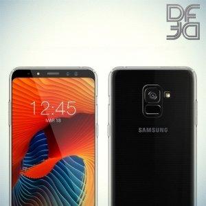 DF Case силиконовый чехол для Samsung Galaxy A8 Plus 2018 - Прозрачный