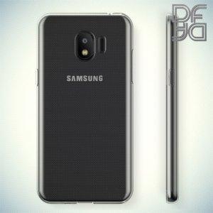 DF Case силиконовый чехол для Samsung Galaxy J2 (2018) SM-J250F - Прозрачный