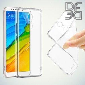 DF Case силиконовый чехол для Xiaomi Redmi 5 - Прозрачный