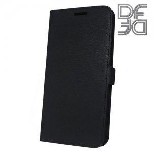 DF флип чехол книжка для Huawei Honor 10 - Черный