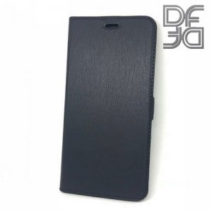 DF флип чехол книжка для Huawei Honor 20 Lite - Черный